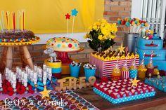 Tudo Simples e Decorado: Vintage Circus