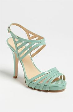 kate spade new york raven stappy patent sandals size Seafoam patent pump New Pretty Shoes, Beautiful Shoes, Cute Shoes, Me Too Shoes, Kate Spade, Zapatos Shoes, Shoe Gallery, Bow Shoes, Crazy Shoes