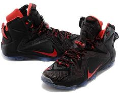 Cheap nike Lebron 12 on Pinterest | Red and Shoes