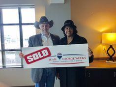 Congratulations to Barbara J. on the sale of her house with #TeamGeorgeWeeks & Eddie Mann! #GettingItDone #Sold