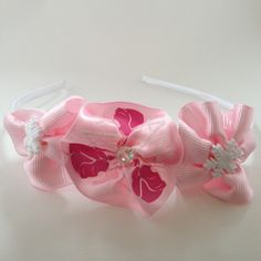 Hair Accessory: Frozen Hairband with crystal and snowflake embellishments by OmaDesigns on Etsy