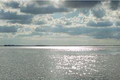 #uitzicht #waddeneiland #Schiermonnikoog #Nederland #wadden #water #zee #wolken