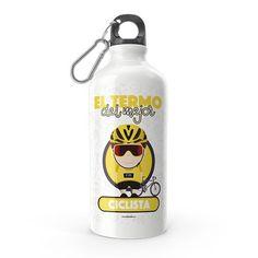 Termo - El termo del mejor ciclista, encuentra este producto en nuestra tienda online y personalízalo con un nombre. Water Bottle, Dishes, Drinks, Carton Box, Upcycling, Store, Crates, Drinking, Beverages