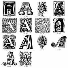 Decorative Letters for Modern Houses