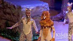 el nuevo rey de la sabana el leon - YouTube