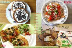 Menu dieta Weight Watchers a 26 punti Propoints, esempio 1