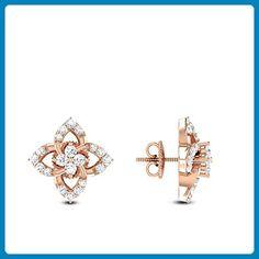 Rose Gold Diamond Cluster Studs Starburst Earrings for sale Starburst Earrings, Diamond Hoop Earrings, Diamond Pendant Necklace, Stud Earrings, Diamond Necklaces, Rose Gold Jewelry, Rose Gold Earrings, Diamond Mangalsutra, Piercing
