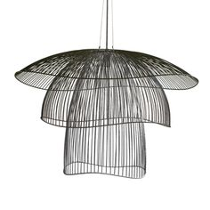 The Papillon Large pendant in our Stratos Collection was designed by Élise Fouin for Forestier; it is a luminous take on the wafting butterfly. Shop Lighting, Chandelier Lighting, Lighting Ideas, Beach Lighting, Chandeliers, Lampe Metal, Blown Glass Pendant Light, Unique Table Lamps, Modern Lighting Design
