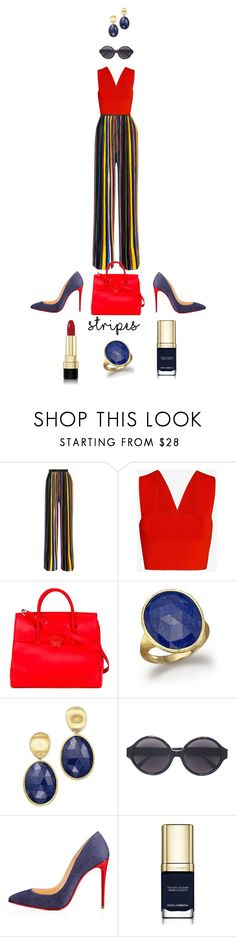 """Job Day 903"" by minigiulia ❤ liked on Polyvore featuring Balmain, A.L.C., Versace, Marco Bicego, Vera Wang, Christian Louboutin and Dolce&Gabbana"
