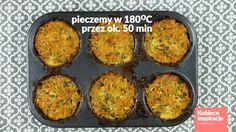 Babeczki warzywne z piekarnika - FIT OBIAD Kobieceinspiracje.pl Muffin, Breakfast, Fit, Morning Coffee, Muffins, Cupcakes, Morning Breakfast, Cupcake