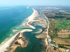 Ilha de Cabanas-Mar in Tavira, Portugal