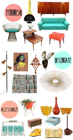 gypsybeee [theblog]: Interior Overhaul // Mid Century Essentials.