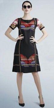 Dazzling Black Georgette Designer Kurti.