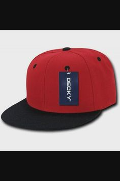 Shop 2Tone Flat Bill Snapbacks - Red/Black now save up 50% off, free shipping worldwide and free gift, Support wholesale quotation! Cool Baseball Caps, Quotation, Red Black, Snapback, Free Shipping, Flat, Cool Stuff, Shop, Color