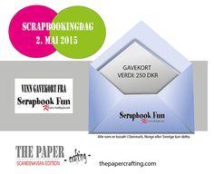 Konkurranse The PaperCrafting Scandinavian, Paper Crafts, Chart, Magazine, Fun, Giveaways, Scrapbooking, Fin Fun, Magazines