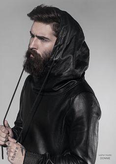 Mens Leather Trousers, Leather Men, Perfect Beard, Beard Love, Punk Fashion, Leather Fashion, Fashion Men, Chris Millington, Chris John