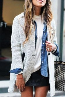 Pure Color Long Sleeve One Button Coat - I like this. Do you think I should buy it?