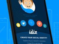 Social Identity App