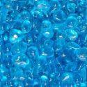Flower Arrangement and Aquarium Glass~ Blue Raspberry Size Medium