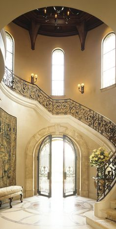 gorgeous foyer design
