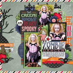 Zombie Dancer - Scrapbook.com