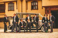 Lovely groomsmen at Ufton Court