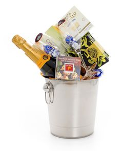 GreenNGreen, Gifts with Flair - Champagne Gift Basket - A Celebration Toast, $250.00 (http://www.greenngreen.com/champagne-gift-basket-a-celebration-toast/)