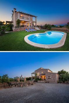 Villa in Alcudia, Mallorca with private pool. Villa Salort Petit is within a five minute stroll from the Old town of Alcudia.