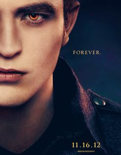Breaking Dawn Pt 2 - Edward Poster