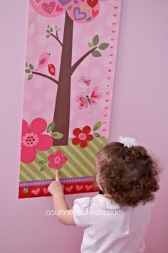 """When I Grow Up"" I See Me! Personalized Growth Chart -  @Courtney Lopez"