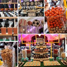 Dessert Tables | Sports Party
