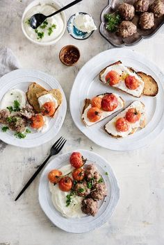 yummy breakfast spread