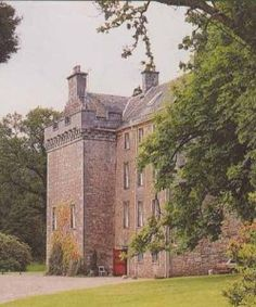 Culcreuch Castle, Scotland. Set on a 1,600-acre country estate 14.9 miles from Stirling, this castle hotel dating from the 14th century is the ancestral seat of the Scottish clan Galbraith.