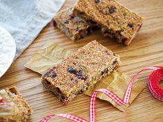 Secret Squirrel Food – Cranberry & Pistachio Oat Bars