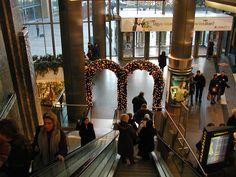 WestEnd karácsonyi kapu