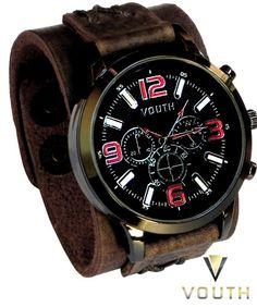 0272a123527 12 melhores imagens de Bracelete de Couro Masculino