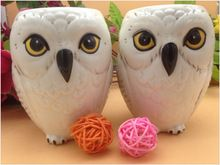 D'origine Harry Potter Hedwig Tasse En Céramique Aigle Faucon de Bande Dessinée Petit Déjeuner Lait Thé Tasse Tasse D'anniversaire Cadeau Collection(China (Mainland))