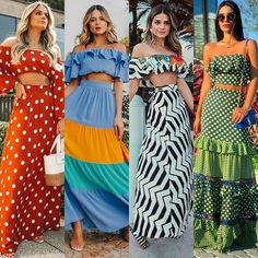Image may contain: 4 people, people standing Chic Outfits, Spring Outfits, Girl Outfits, Simple Outfits, Casual Dresses, Fashion Dresses, Summer Dresses, Maxi Dresses, Girl Fashion