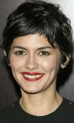 Audrey Tautou's Short Hairstyle At The Hors De Prix Film Premiere, 2006