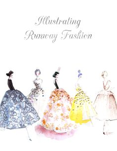 @Katie Rodgers is launching her new online course for Illustrating Runway Fashion via skillshare. Exciting! @Eva-Maria Podbelsek