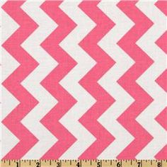 Designed by RBD Designers for Riley Blake Designs, this cotton print fabric is perfect for crafts, quilting, apparel and home décor accents. The chevron stripe is vertical to the selvedge. Colors include hot pink and white. Chevron Fabric, Pink Fabric, Chevron Table Runners, Rock Star Party, Pink Chalk, Boppy Cover, Riley Blake, Drapery Fabric, Textile Patterns