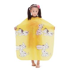 JINDIN Salon Child Hair Cutting Cape Kids Shampoo Cape Waterproof Hairdressing Capes -- Check this awesome product by going to the link at the image.