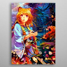 A huge collection of bizarre anime and manga illustrations! Manga Illustrations, Metal, Artist, Anime, Poster, Crafts, Collection, Design, Manualidades