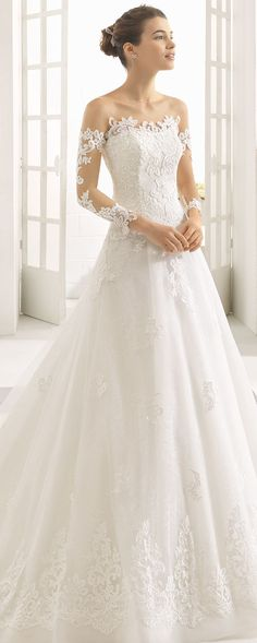 Find Wedding Dresses by Aire Barcelona thanks to our search engine. Discover the latest tips and trends in Wedding Dresses by Aire Barcelona . Lace Wedding Dress, Dream Wedding Dresses, Bridal Dresses, Wedding Gowns, Weeding Dress, Dress Lace, Aire Barcelona Wedding Dresses, Wedding Gown Gallery, 2017 Bridal