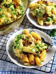 Pierogi, Feta, Potato Salad, Dinners, Potatoes, Ethnic Recipes, Dinner Parties, Food Dinners, Potato