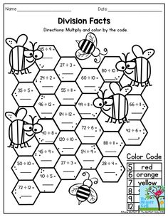 math coloring worksheet addition for easter Multiplication Activities, Math . First Grade Math Unit 12 Adding 3 Numbers Adding 3 numbers worksheets and . Math Division Worksheets, 3rd Grade Math Worksheets, Sixth Grade Math, Printable Math Worksheets, Fourth Grade Math, First Grade Math, Division Activities, Teaching Division, Division Games
