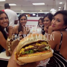 In-N-Out with the lovely ladies of Miss Philippines USA