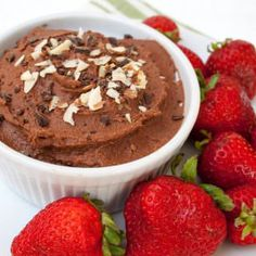 Dark Chocolate Hummus - Create Mindfully-Dark Chocolate Hummus (vegan, gluten free) - This healthy dessert dip combines two great snacks into one. It can be used as a frosting or eaten by the. Vegan Desserts, Vegan Recipes, Cooking Recipes, Wrap Recipes, Vegan Sloppy Joes, Chocolate Hummus, Sugar Free Maple Syrup, Lentil Burgers, Easy Healthy Breakfast