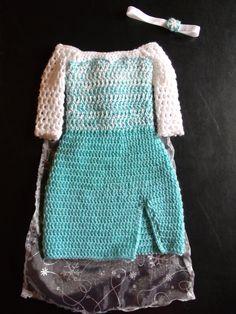 crochet Disney's Frozen 'Queen Elsa' inspired by momscrochetcorner