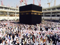 Holy Ka'bah. Wish I could visit you more and more..